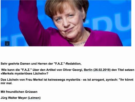 """E-Mail an """"F.A.Z."""""""